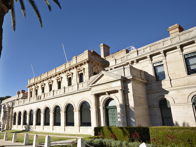 Eastern facade WA Parliament House