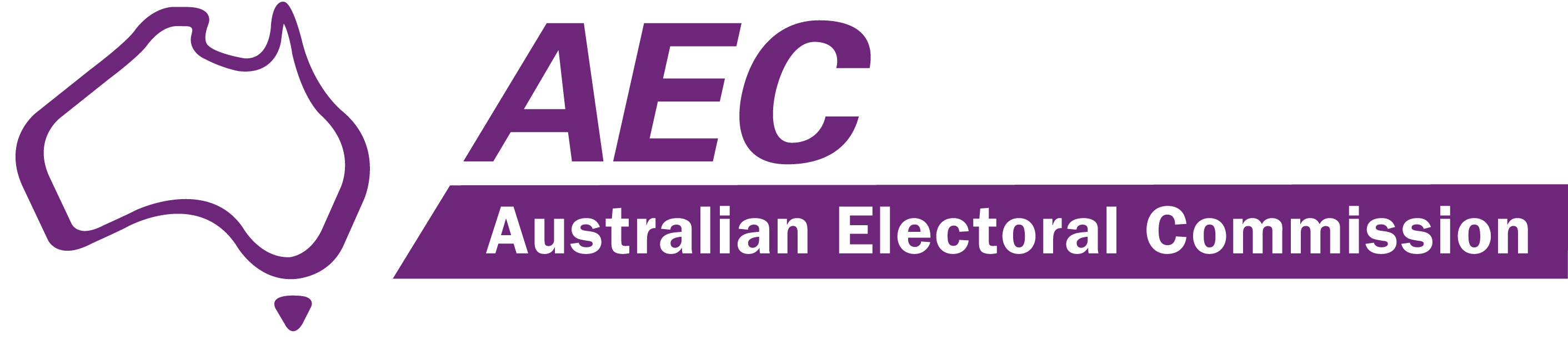 The logo for the Australian Electoral Commission
